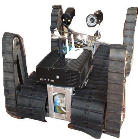 Y-2无线履带机器人